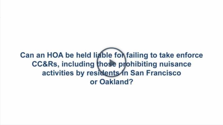 San Francisco HOA and TIC Dispute Attorney